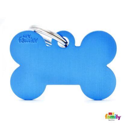 Ταυτότητα Σκύλου Big Bone Aluminum Μπλε 1