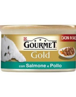 GOURMET GOLD ΚΟΜΜΑΤΑΚΙΑ ΣΟΛΩΜΟΥ & ΚΟΤΟΠΟΥΛΟΥ 85g