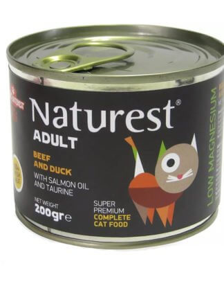 NATUREST ADULT CHICKEN AND RABBIT WITH SALMON OIL 200gr