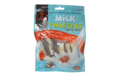 TAIL SWINGERS MILK TWISTERS BEEF SMALL 130g 1