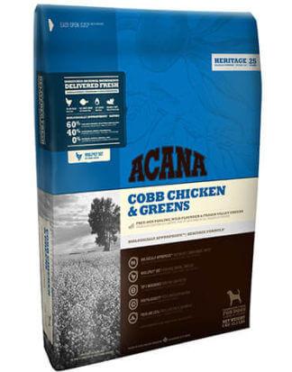 Ξηρά τροφή σκύλου acana cobb chicken and greens party animals