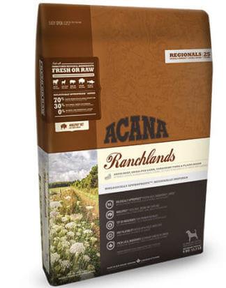 Ξηρά τροφή σκύλου acana ranchlands