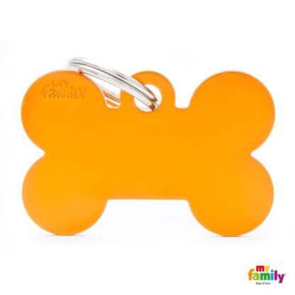 Ταυτότητα Σκύλου Big Bone Aluminum Πορτοκαλί 1