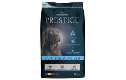 Ξηρά τροφή σκύλου flatazor prestige adult light sterilized