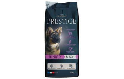 Ξηρά τροφή σκύλου flatazor prestige junior maxi