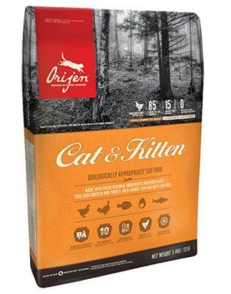 Ξηρά τροφή γάτας orijen cat and kitten