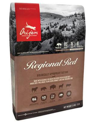 Ξηρά τροφή γάτας orijen regional red