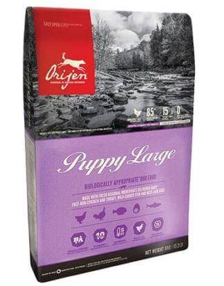 Ξηρά τροφή σκύλου orijen puppy large breed