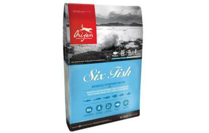 Ξηρά τροφή σκύλου orijen six fish