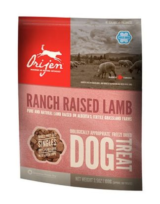 ΛΙΧΟΥΔΙΕΣ ORIJEN FREEZE DRIED RANCH LAMB 100g
