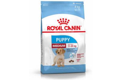 Ξηρά τροφή σκύλου Royal canin medium puppy