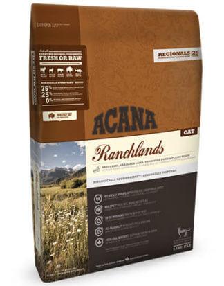 Ξηρά τροφή γάτας Acana Cat Ranchlands