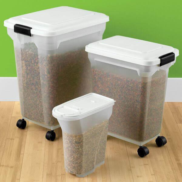 Αποθήκευση τροφής για το κατοικίδιο σας party animals