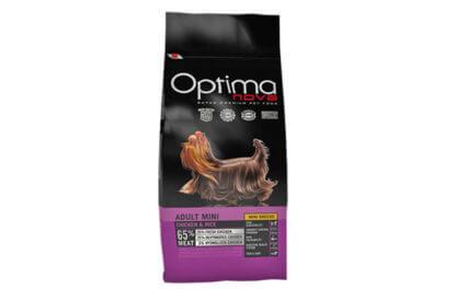 Ξηρά τροφή σκύλου Optima Nova Adult Mini Chicken and rice