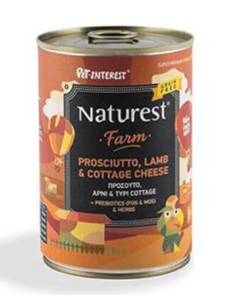 Naturest Lamb & Prosciutto With Cottage Cheese 400g