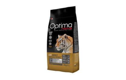 Ξηρά τροφή γάτας optimanova cat adult chicken and potato