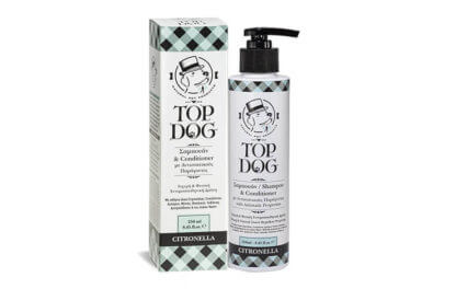 TOP DOG CITRONELLA ΣΑΜΠΟΥΑΝ 250ML 1