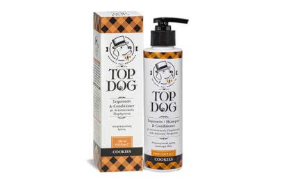 TOP DOG COOKIES ΣΑΜΠΟΥΑΝ 250ML 1