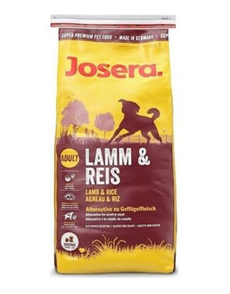 JOSERA ADULT LAMP & RICE 15KG