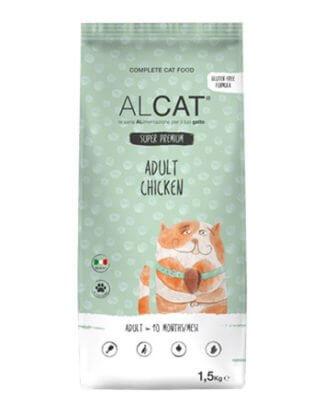 alcat adult chicken 1.5kg ξηρά τροφή γάτας